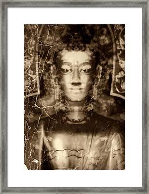 Siddhartha Gautama Framed Print by Ramon Fernandez