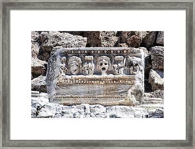 Side Amphitheatre 03 Framed Print by Antony McAulay