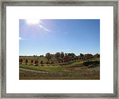 Side By Side By Side Framed Print by EdCindy Croal