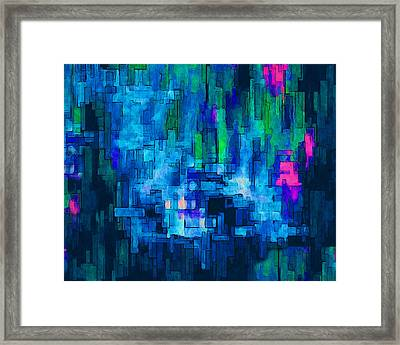 Side By Side Framed Print by Jack Zulli