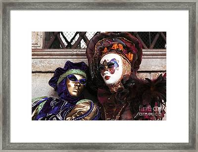 Side By Side Framed Print by John Rizzuto