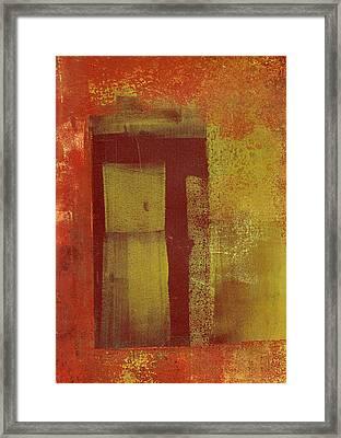 Side Door Framed Print
