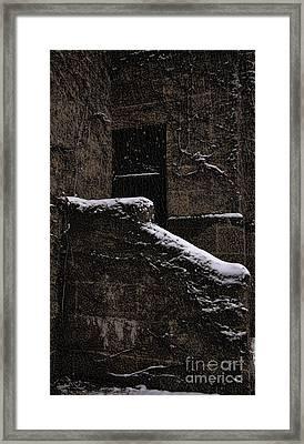 Side Door Framed Print by Jasna Buncic