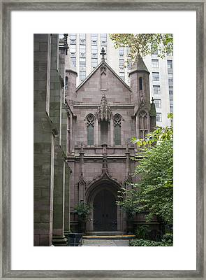 Side Entrance Framed Print by Teresa Mucha