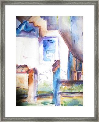 Side Of A House Framed Print