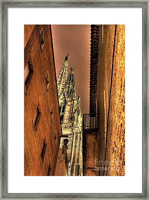 Framed Print featuring the photograph Side Of Gaudi by Erhan OZBIYIK