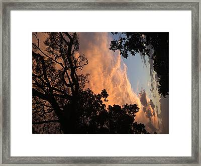 Side Sky Framed Print