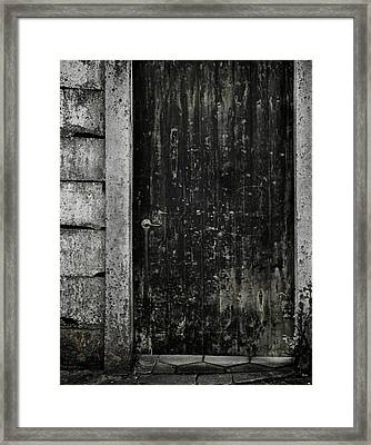Side Street Framed Print by Odd Jeppesen