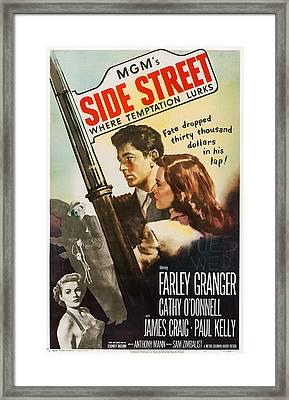 Side Street, Top From Left Farley Framed Print