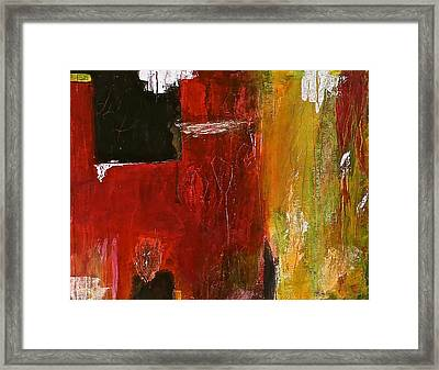 Sidelight Framed Print