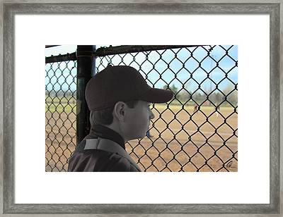 Sidelined Framed Print by Chris Thomas