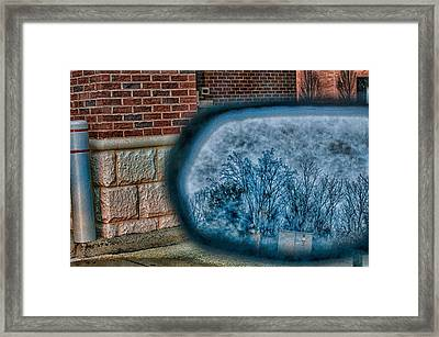 Sideview Mirror Framed Print