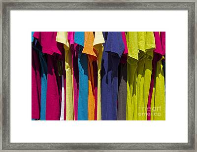 Sidewalk Sales Framed Print