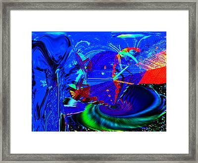 Sidewinder 4 Framed Print