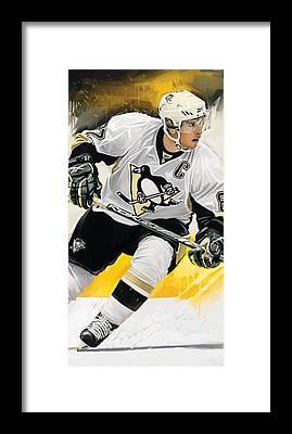 Hockey Art Framed Prints
