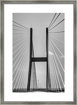 Sidney Lanier Bridge Framed Print by Ginger Wakem