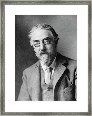 Sidney Webb Framed Print by Library Of Congress