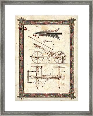 Siege Crossbow Framed Print