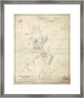Siege Of Kimberley Framed Print