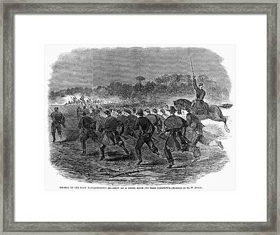 Siege Of Yorktown, 1862 Framed Print by Granger