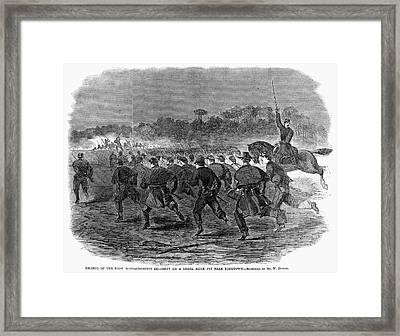 Siege Of Yorktown, 1862 Framed Print by Granger