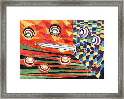 Siegfried's Sword Framed Print by Sergey Molchanov