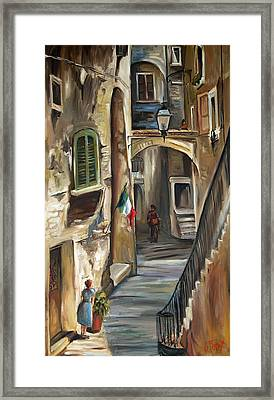Siena Italy Framed Print by Carole Foret