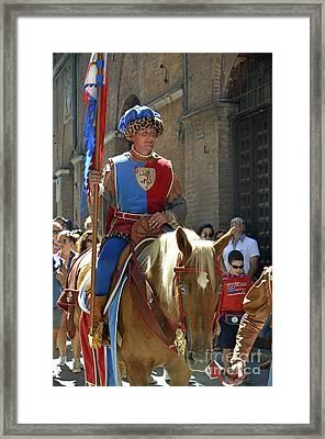Siena Palio Parade Framed Print