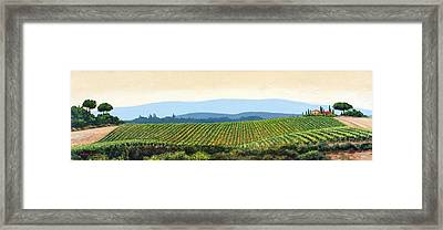 Sienna Hills Framed Print by Michael Swanson