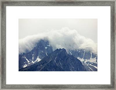 Sierra Clouds Framed Print