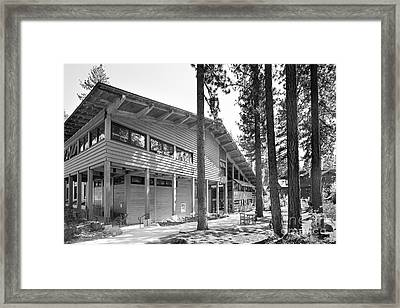 Sierra Nevada College - Prim Library Framed Print by University Icons