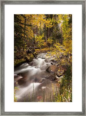 Sierra Nevada Fall Framed Print by Peter Tellone