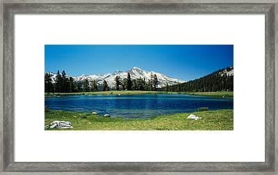 Sierra Nevada Mountains Yosemite Framed Print