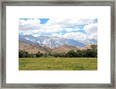 Sierra Nevada Framed Print by Paul Van Baardwijk