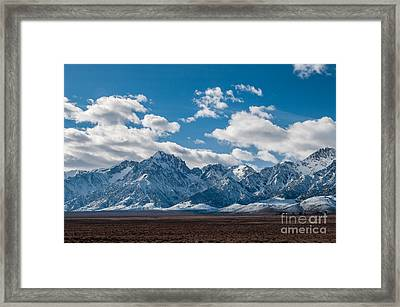 Sierra Nevadas 2.3188 Framed Print