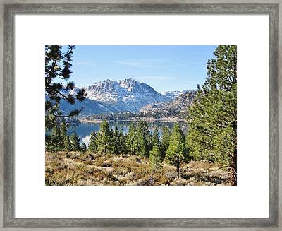 Framed Print featuring the photograph Sierra Perfect by Marilyn Diaz