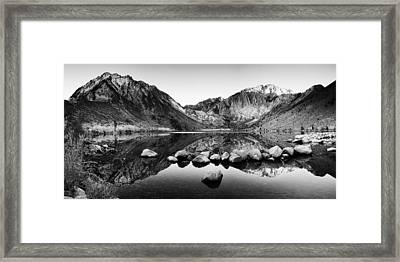 Sierra Reflections Framed Print by Andrew Soundarajan