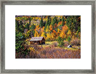 Sierra Solitude 2 Framed Print by Scott McGuire