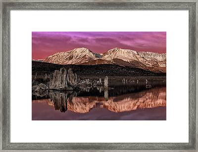 Sierra Sunrise Framed Print