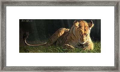 Siesta 2 Framed Print by Aaron Blaise