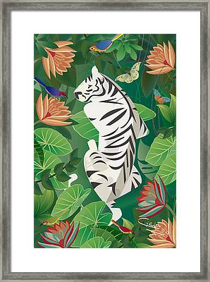 Siesta Del Tigre - Limited Edition 2 Of 15 Framed Print
