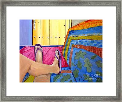 Siesta Framed Print by Judy Morris