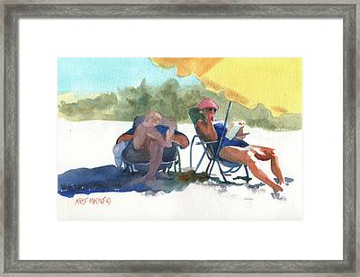 Siesta Framed Print by Kris Parins