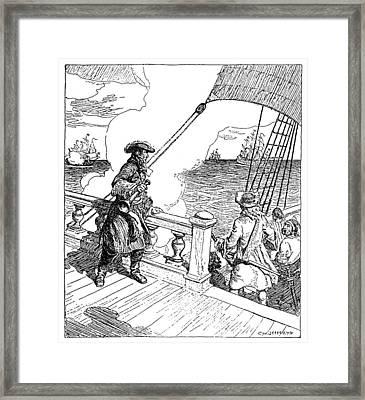 Sieur D'iberville (1661-1706) Framed Print