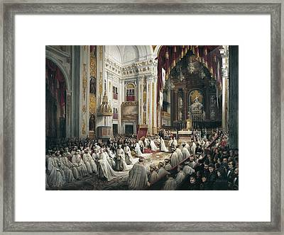 Sig�enza Y Chavarrieta, Joaqu�n 19th Framed Print