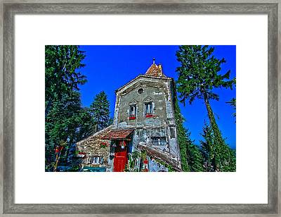 Sighisoara - Citadel Tower Framed Print by Andrei Fried