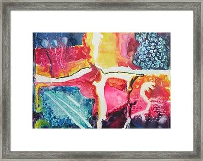 Sight And Sounds Framed Print by Lori Chase
