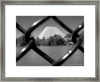 Sightline Framed Print by Misty Herrick