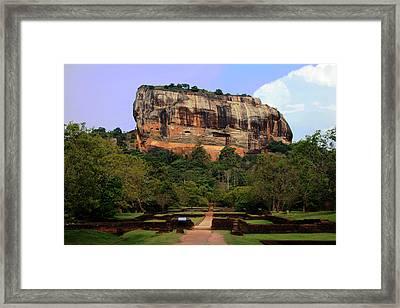 Sigiriya Fortress Framed Print by Sanjeewa Marasinghe