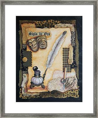 Siglo De Oro Framed Print by Candy Mayer
